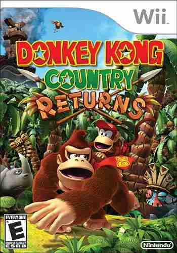 Descargar Donkey Kong Country Returns [MULTI3][WII-Scrubber] por Torrent